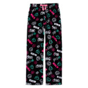 Total Girl® Print Fleece Pajama Pants - Girls 4-16