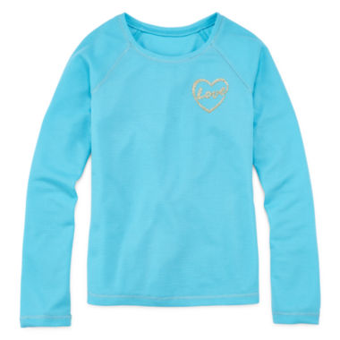 jcpenney.com | Total Girl® Long-Sleeve Thermal Pajama Top - Girls 4-16