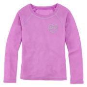Total Girl® Long-Sleeve Thermal Pajama Top - Girls 4-16