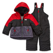 Carter's® Colorblock Snowsuit - Baby Boys 12m-24m