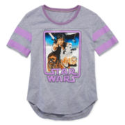 Star Wars Graphic Rugby Tee - Girls 7-16