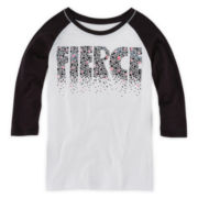 Xersion™ 3/4-Sleeve Raglan Tee - Girls 7-16 and Plus