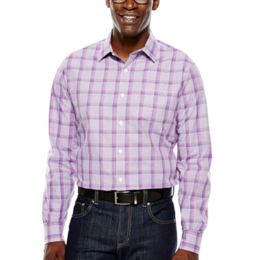 jcpenney.com | Claiborne® Long-Sleeve Plaid Woven Shirt