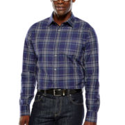 Claiborne® Long-Sleeve Button-Front Shirt