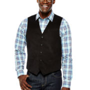 Claiborne® Velvet Vest