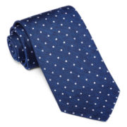 Stafford® Highland Dot Tie - Extra Long