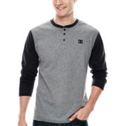 DC® Long-Sleeve Colorblock Henley Tee