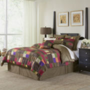 Pointehaven Marrakesh Complete Bedding Set with Sheets