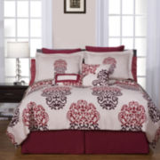 Pointehaven Cherry Blossom Duvet Cover Set