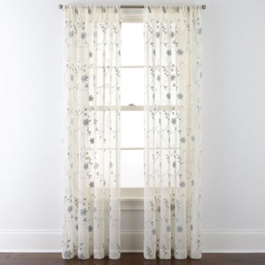 jcpenney.com | JCPenney Home™ Malta Rod-Pocket Curtain Panel