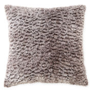 JCPenney Home™ Sculpted Faux-Fur Decorative Pillow