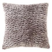 JCPenney Home™ Sculpted Faux-Fur Decorative Pillow