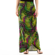 Worthington® Gathered-Front Sarong Skirt - Petite