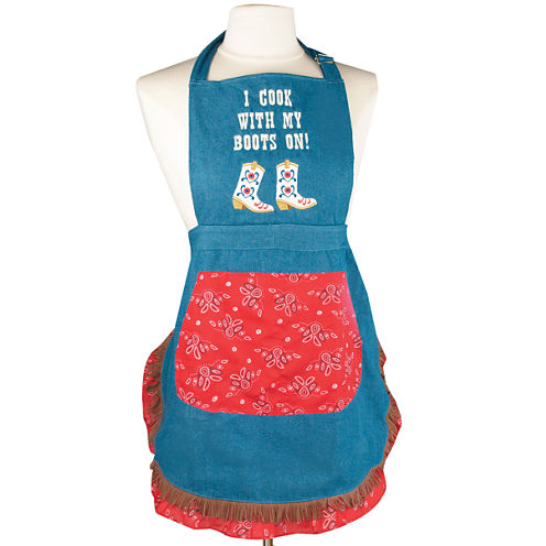 Women's I Cook with my Boots on Apron