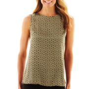 9 & Co.® Sleeveless Print Top - Petite