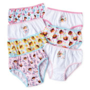 Dora 7-pk. Brief Panties - Girls 2t-6