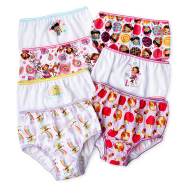jcpenney.com | Nick Jr. 7-pk. Assorted Brief Panties - Girls 2t-4t