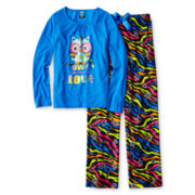 Jelli Fish Kids 2-pc. Owl Sleep Set - Girls