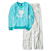Jelli Fish Kids Long-Sleeve Cat Pajama Set - Girls 7-16