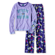 Jelli Fish Kids Long-Sleeve Attitude Pajama Set - Girls