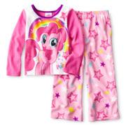 My Little Pony Rainbow Sleep Set - Girls 2t-4t
