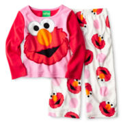 Elmo Pajama Set - Girls 2t-4t