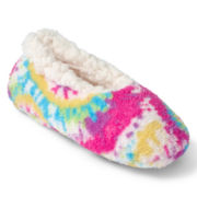 Tie-Dyed Slipper Socks - Girls