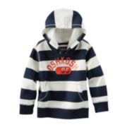 OshKosh B'gosh® Striped Pull-Over Hoodie – Boys 2t-4t