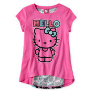 Hello Kitty® Panel Back Top - Girls 6-16