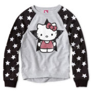 Hello Kitty® Star Sleeve Sweatshirt - Girls 6-16