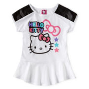 Hello Kitty® Peplum Top - Girls 6-16