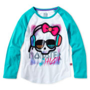 Monster High Baseball Skull Tee - Girls 6-16