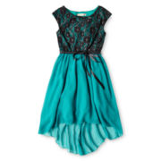Speechless® Teal Dress - Girls 6-16