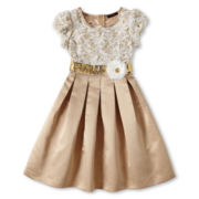 My Michelle Ivory Lace Dress - Girls 7-16