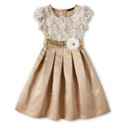 My Michelle Ivory Lace Dress - Girls 7-16
