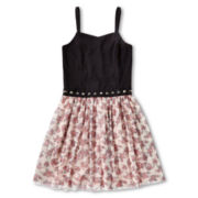 Sally M™ Sally Miller Printed Tulle Dress - Girls 6-16