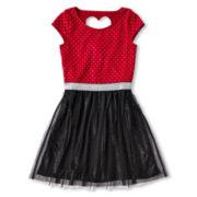 Sally M™ Sally Miller Sparkle Dress - Girls 6-16