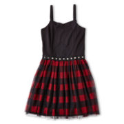 Sally M™ Sally Miller Printed Tulle Dress - Girls 6-16