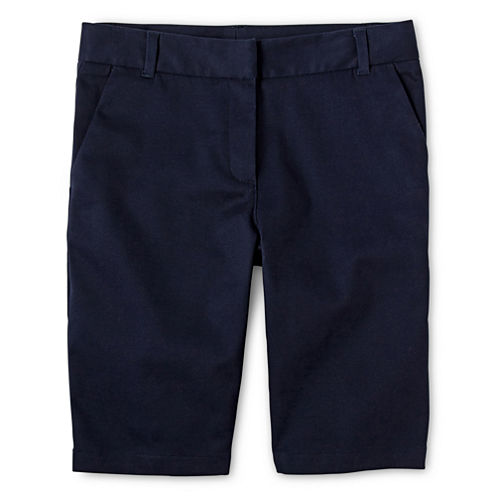 IZOD® Twill Bermuda Shorts - Preschool Girls 4-6x and Slim