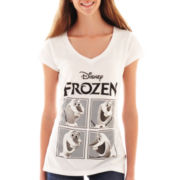 Freeze Frozen V-Neck Tee