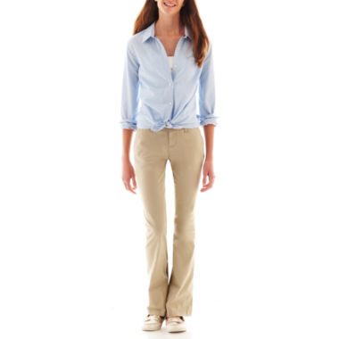 jcpenney.com | Arizona Long-Sleeve Uniform Shirt or Bootcut Pants
