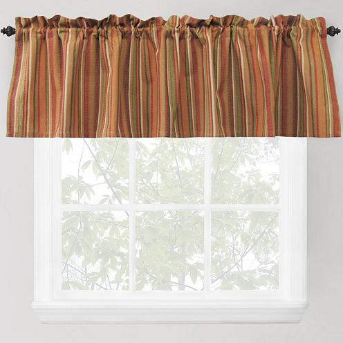 Park B. Smith® Raynier Rod-Pocket Valance