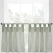 Park B. Smith® Ticking Stripe Rod-Pocket Window Tiers