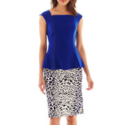 Worthington® Zippered Peplum Top or Long Pencil Skirt