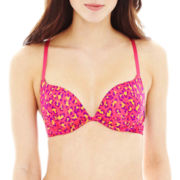 Flirtitude® Overachiever Plunge Pushup Bra