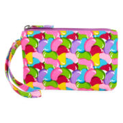 On the Verge Jellybean-Print Wristlet - Girls