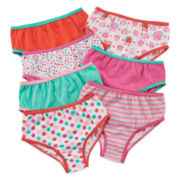 Okie Dokie® 7-pk. Briefs - Toddler Girls 2t-5t