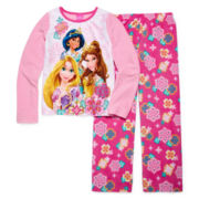 Disney Princess Pajamas - Girls 4-10