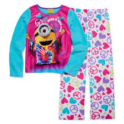 Despicable Me Minion Pajamas - Girls 4-10