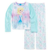 Disney Frozen Elsa Pajamas - Girls 4-10